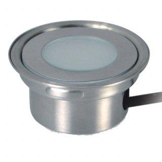 ARGOS - LED (Boden-)Einbaustrahler rund IP67 RGB - inklusive Einbautank