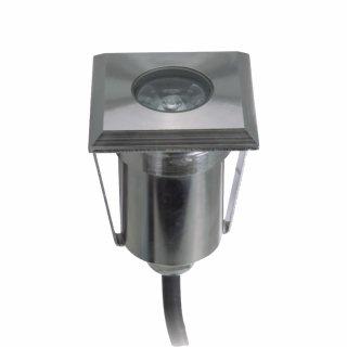 ARGOS - LED (Boden-)Einbaustrahler POWER quadratisch IP67 kaltweiß dimmbar