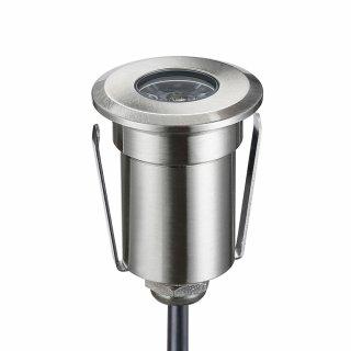 ARGOS - LED (Boden-)Einbaustrahler POWER rund IP67 warmweiß dimmbar