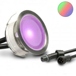 ARGOS - LED (Boden-)Einbaustrahler MINIMAX-V2 rund IP67 RGB