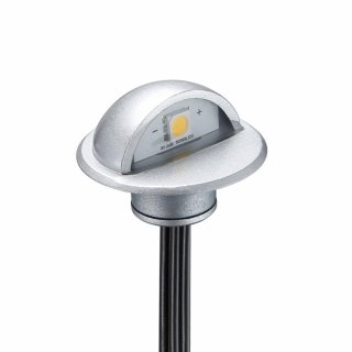 SET: 6x ARGOS - LED (Boden-)Einbaustrahler MINIMAX rund IP65 warmweiß 90° inkl. Netzteil